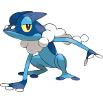 Pokemon X and Y Frogadier